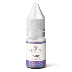 Viative cbd e liquid isolate mixed fruits 250mg